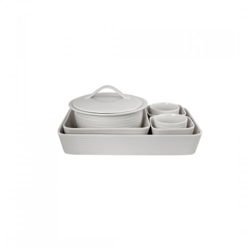 Gordon Ramsay Maze White 7-Piece Bakeware Set by Gordon Ramsay