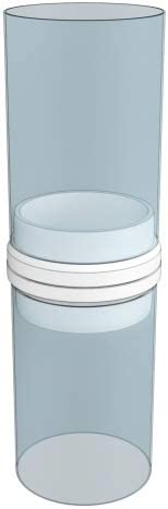 Kondenswassersammler PVC rund L/üftung Abluft Zuluft System /Ø 125