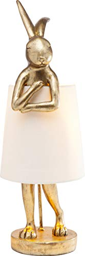 KARE Lámpara de mesa Animal, Hase Gold, 23 cm