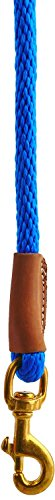 Picture of Mendota Pet Snap Leash, 1/2-Inch by 6-Feet, Blue