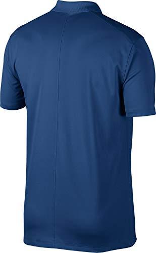 Shirt Polo Dry Solid Men's NIKE Black Golf Victory Gym Blue BxPRRZ