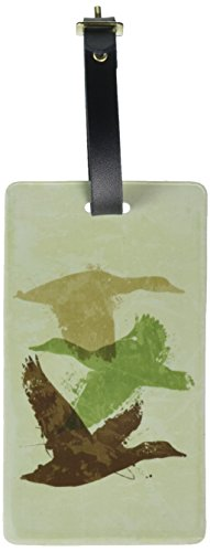 Graphics & More Ducks Flying Design-Hunting Hunter Camouflage Luggage Tags Id, White