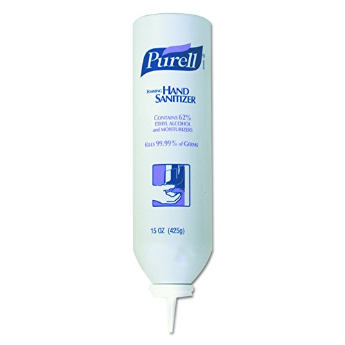 (PURELL APX Aerosol Foam Hand Sanitizer, Refreshing Fragrance, 15 fl oz Sanitizer Foam Refill for PURELL APX Dispenser (Case of 12) -)