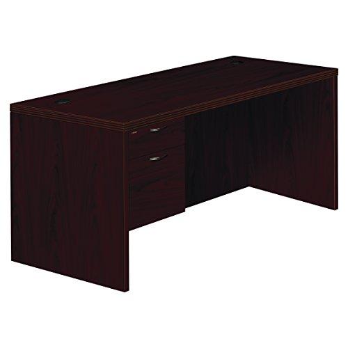 HON 11584LAFNN Valido 11500 Series Left Pedestal Desk, 66w x 30d x 29 1/2h, Mahogany