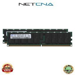 667 Registered Memory Kit (X8124A-Z 8GB (2x4GB) Sun Fire X4600 M2 PC2-5300 DDR2-667 240-pin ECC Registered DIMM Memory Upgrade Kit 100% Compatible memory by NETCNA USA)