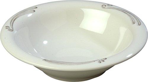 - Carlisle 43037909 Durus Designer Pattern 12-oz. Rimmed Bowl, 7.24