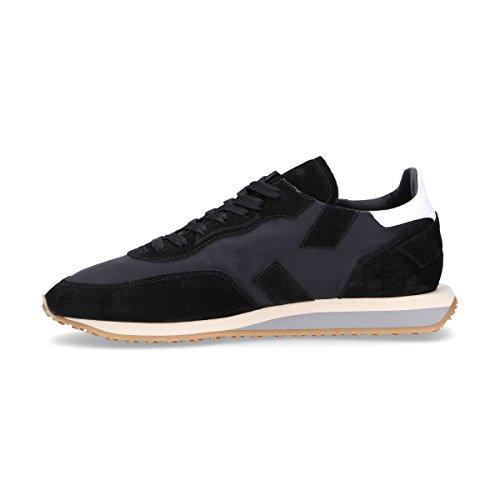 Ghoud Mannen Rslmns10 Zwarte Suède Sneakers