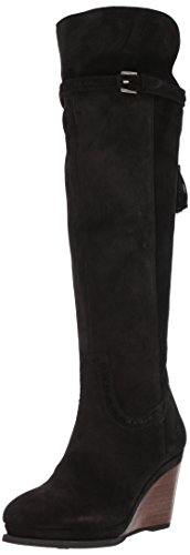 Ariat Women's Knoxville Work Boot, Black Suede, 7.5 B US by Ariat