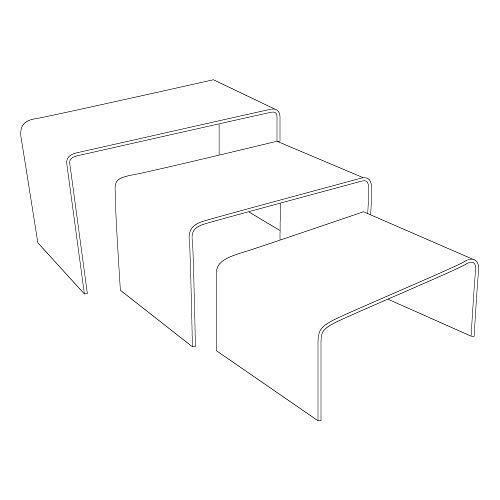 Acrylic Riser Set ()