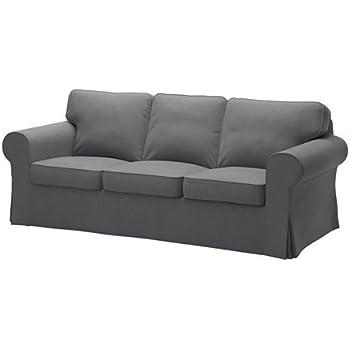 Foretrukne Amazon.com: IKEA Ektorp 3 Seat Sofa Cotton Cover Replacement is TI29
