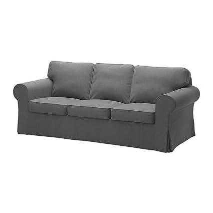Amazon.com: Ikea Sofa cover, Nordvalla dark gray 1428.8811.1034 ...