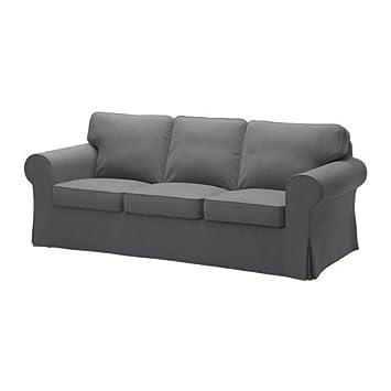 Amazon.com: IKEA sofá Cover, nordvalla Gris Oscuro 1428.8811 ...