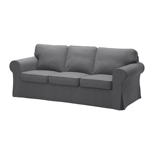 IKEA Sofa Cover, Nordvalla Dark Gray 1428.8811.1034