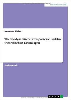 Book Thermodynamische Kreisprozesse Und Ihre Theoretischen Grundlagen
