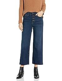 Amazon Brand - Goodthreads Women's High-Rise Wide Leg Cropped Jean