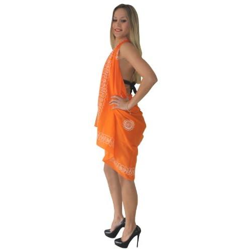 on sale La Leela 100% algodón ligero puro bordado cuerdas del corazón  romántico envuelven el ... 97b2c2686ae