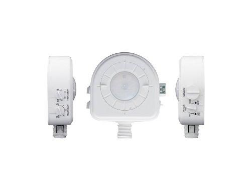 【未使用品】 Leviton osfhd-itwデュアルリレー、交換可能調節可能レンズ、明るい緑色LED、120 B005Y8JM7A V// Leviton 230 V/ 277 V/ 347 V、パッシブ赤外線占有センサー、ホワイト B005Y8JM7A, 帽子屋カブロカムリエ:8f720325 --- a0267596.xsph.ru