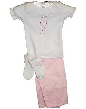 Baby Initially Yours 3 Piece Clothing Set
