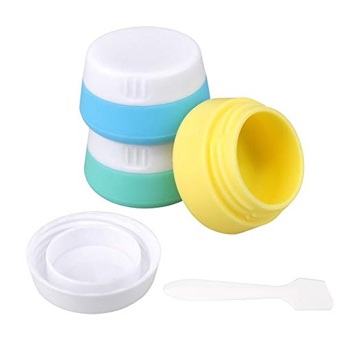 Silicone Travel Accessories Containers Sealed