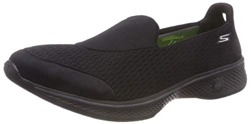 Skechers Performance Women's Go Walk 4 Pursuit Walking Shoe, Black - 7 B(M) ()