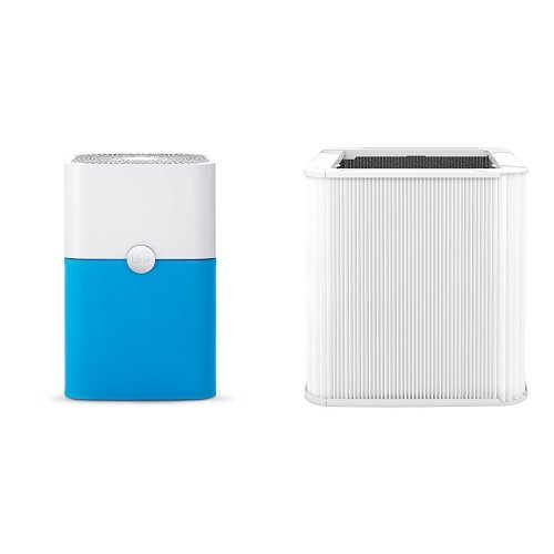 Blue Pure 211+ with particle+carbon filter & Blue Pure 211+ Replacement Filter, Particle and Activated Carbon, Fits Blue Pure 211+ Air Purifier ONLY, by Blueair by