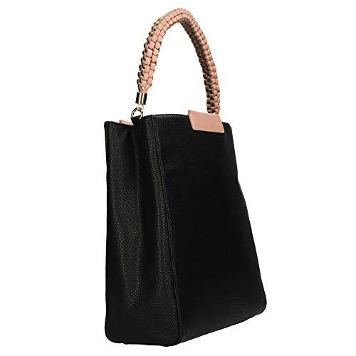 Nero Shopper Sc4521pp07 Pollini Pollini Donna Sc4521pp07 CSqaFx