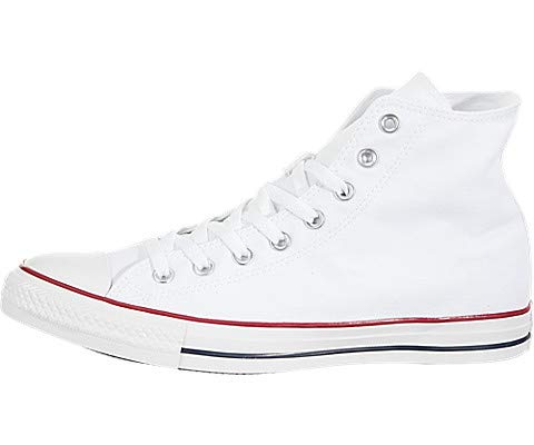 Chuck Taylor All Star Canvas High Top, Optical White, 9 by Converse