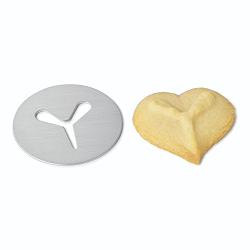 Kuhn Rikon Clear Cookie Press with Decorating Tips and Storage Box