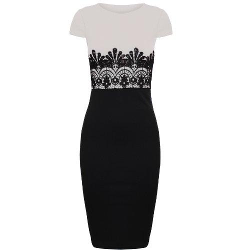 Oromiss - Vestido - para mujer negro