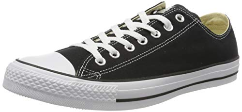 Converse Unisex Chuck Taylor All Star Low Top Black/White Sneakers - US Men 6 / US Women 8