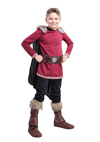 Boy's Burgundy Viking Costume X-Large -