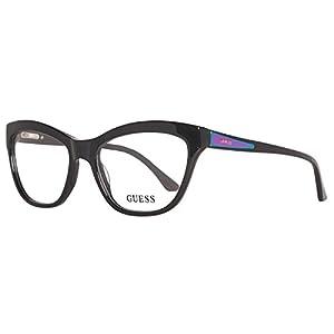 Guess Women's Eyeglasses GU2463 GU/2463 BLK Black Full Rim Optical Frame 53mm