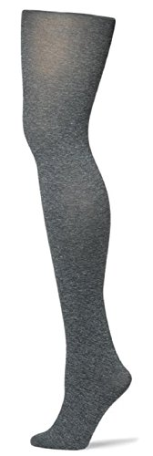 Coloured Collection - Butterfly Girls Heather Collection Microfiber Colored Tights (10-12, Heather Gray)