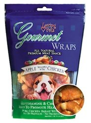 Pets Treat Loving (Loving Pets Gourmet Wraps Apple Wrapped with Chicken 6oz)