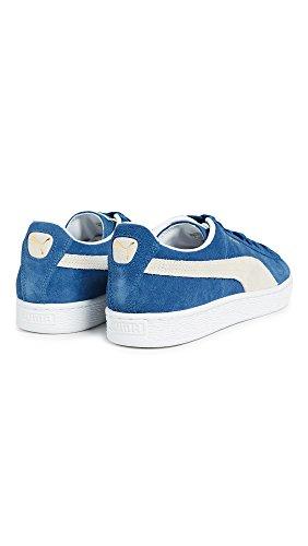 de Olympian Classic Zapatillas casa Puma Blue Unisex por Estar White Suede Adulto Azul qfZOxxRwt