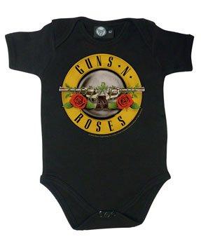 Guns 'n Roses (Bullet): Baby Body, schwarz Metal-Kids 476-30-8