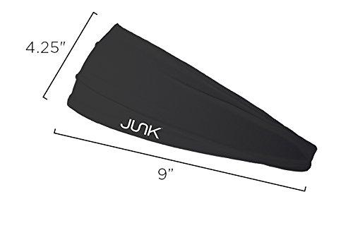 JUNK Brands Never Surrender Big Bang Lite Headband, Grey, One Size by JUNK Brands (Image #3)
