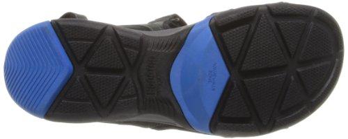 Clarks Mens Onda Giro Sandalo Nero / Blu