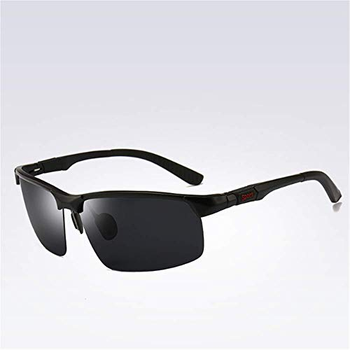 ZYZHjy Silver Black De Gafas Hombres Todo Ash negro Polarizadas Sol qqw1PSng6x