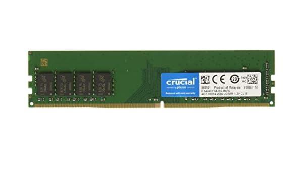 Crucial 4GB DDR4 SDRAM Memory Module - 4 GB - DDR4 SDRAM