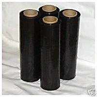 4 Rolls Clear 18'' x 1500FT 80 Gauge Pallet Wrap Stretch Film Shrink Hand Wrap 1500' US Seller