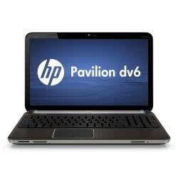HP Pavilion DV6-6020SS LD035EA - Ordenador portátil de 15,6'' (AMD Turion II X2 Dual Core P560, 4 GB de RAM, 750 GB de disco duro) - teclado español QWERTY