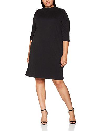Studio Untold Jerseykleid, Vestido para Mujer Negro (Schwarz 10)