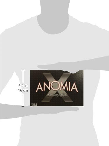 Everest Toys Anomia X Card Game For 3-6 Players Party Game For Adults