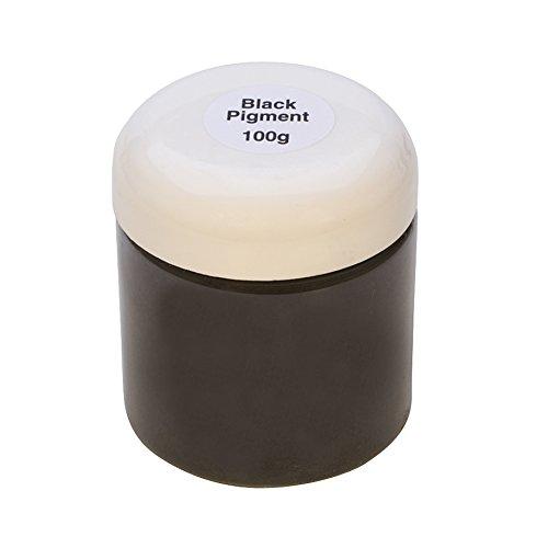 Black Pigment 100 Gram Jar for The EnCapture Artisan Concrete Jewelry Making Kit