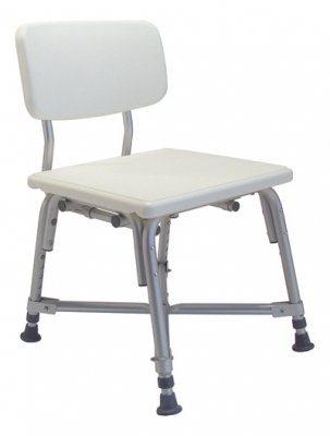 Lumex 7939A-1 Bariatric Bath Seat with Backrest