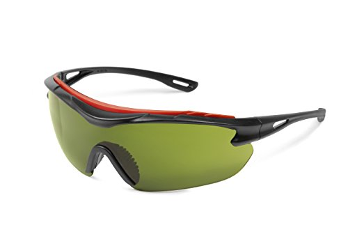Elvex SG-31WS3-AF Brow-Specs with Welding Shade Green 3.0 - Sg Shades