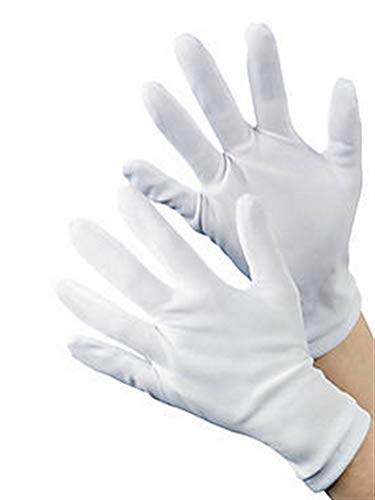 WHITE GLOVES (2PC ADULT SIZE)