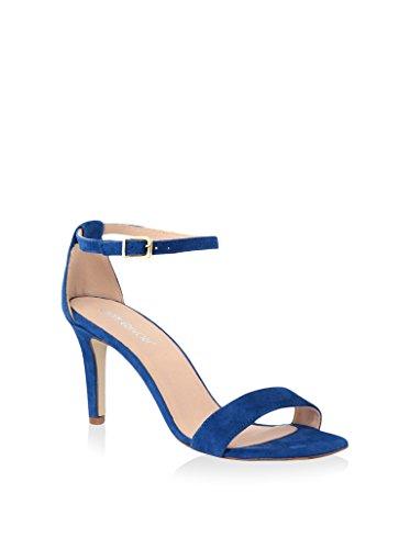 GIANNI GREGORI Sandalias de tacón Azul EU 39