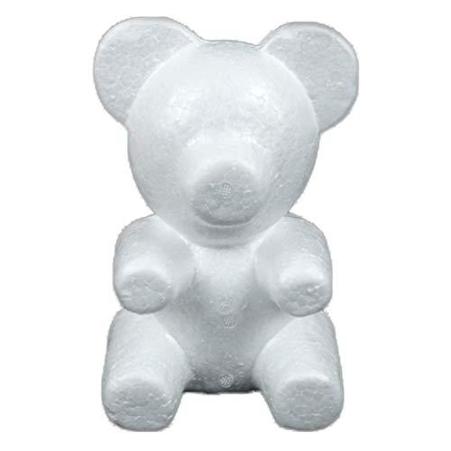 (Floralby Foam Bear Shape Modeling DIY Craft Handmade Valentine's Gift for)